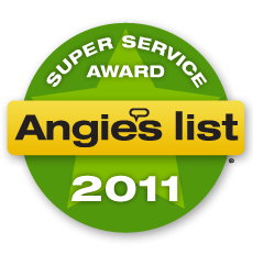 Angies List Service Award For 2011